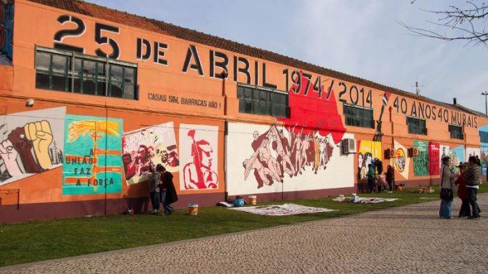 40 anos murales