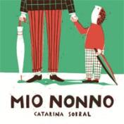 """La copertina di """"Mio Nonno"""", La Nuova Frontiera Junior."""