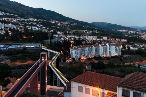 Covilhã (ponte pedonale) foto di Luca Onesti